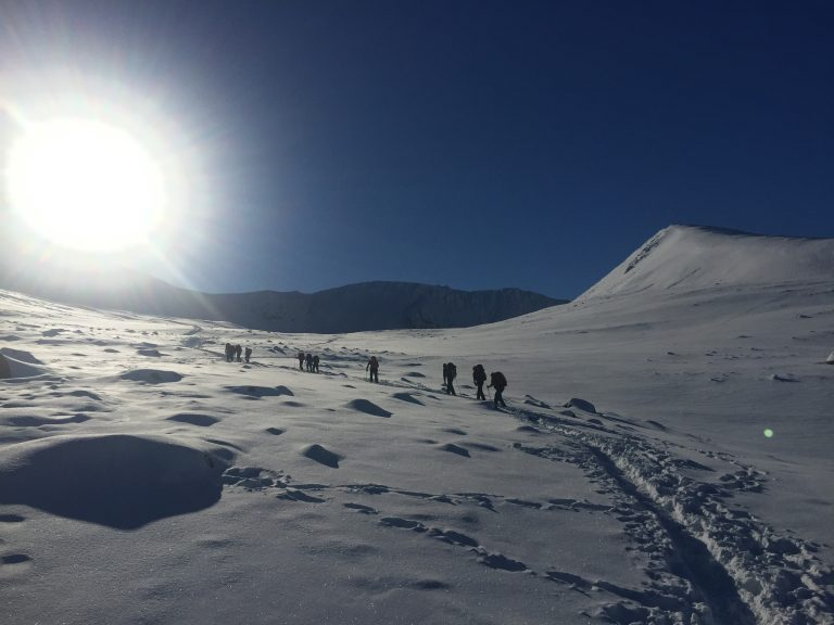 Winter Mountain Leader