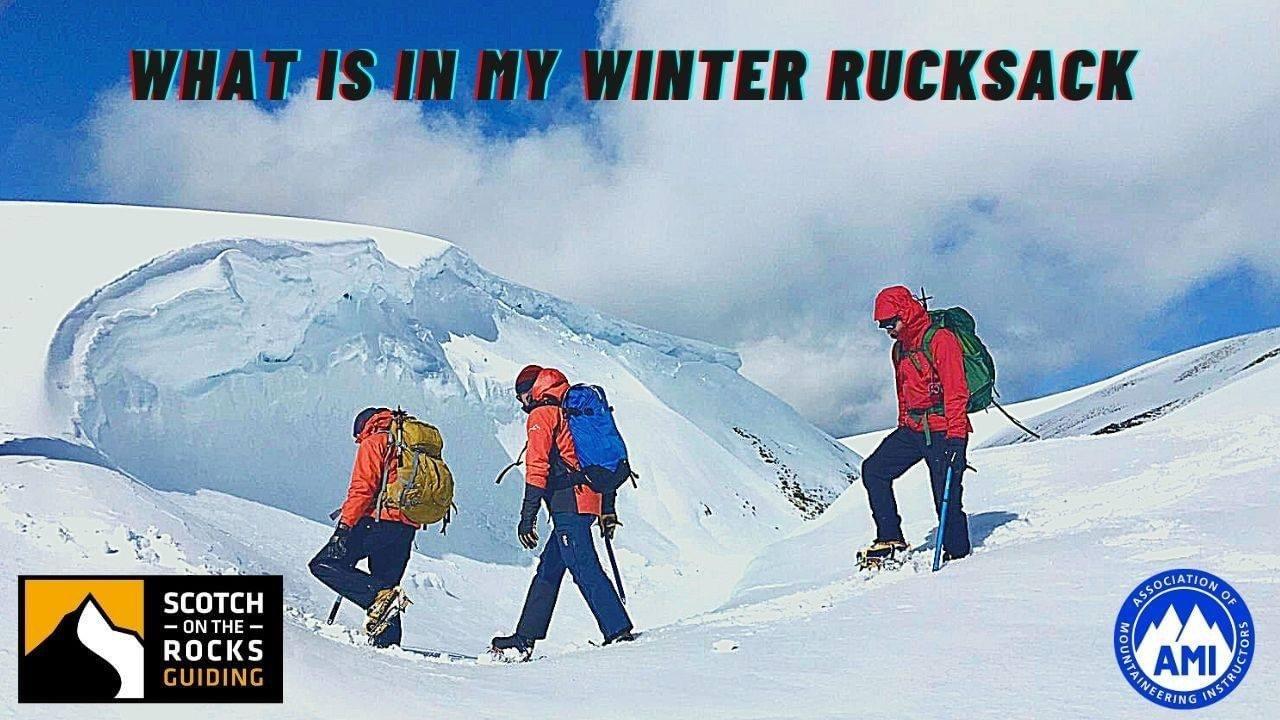Whats in my Winter Rucksack